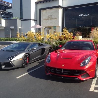 LP700&Ferrari